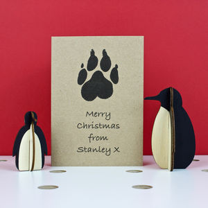 Christmas Card From The Dog - cards
