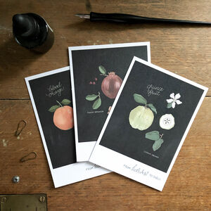 Fruit Botanical 'From Harvest To Table' Postcard Set