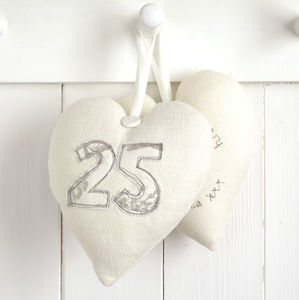 Personalised Wedding Anniversary Heart