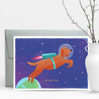 Jetsetter Travel Greeting Card