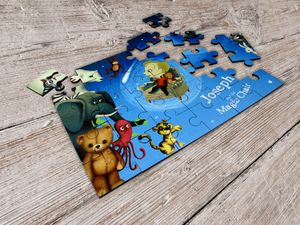 Personalised Children's Jigsaw Puzzle - toys & games