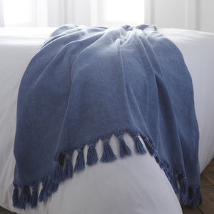Large Cotton Throw - throws, blankets & fabric