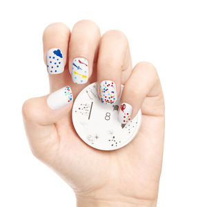Peekaboo Nail Art Stamp - nail & body art
