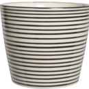 Large Stripe Pot