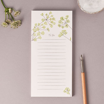 Fennel Magnetic 'To Do' Notepad