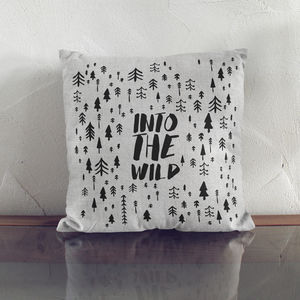 Into The Wild Cushion - home sale