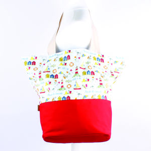 'To Be Beside The Seaside…' Beach Bag - new lines added
