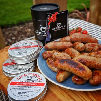 Superb With Sausages! Four BBQ Rubs For Great Bangers