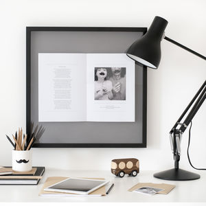 Happy Birthday Photo Personalised Framed Picture