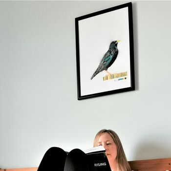 'The Starling' Original Stencil Edition