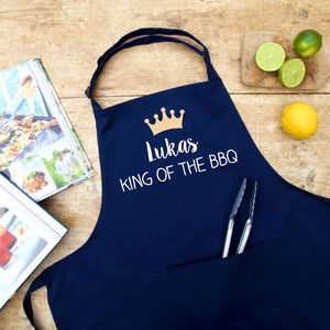 Personalised King Or Queen Apron - aprons