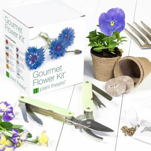 Gourmet Flower Kit And Gardeners Gadget - gardening