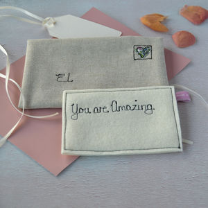 Personalised Love Note - proposal ideas