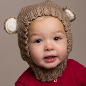 Hand Knitted Baby Bear Hats - gifts for babies & children sale