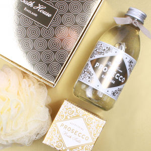 Prosecco Gift Box Bathe - gift sets