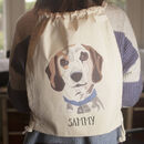 Personalised Dog Walking Set Gift With Backpack