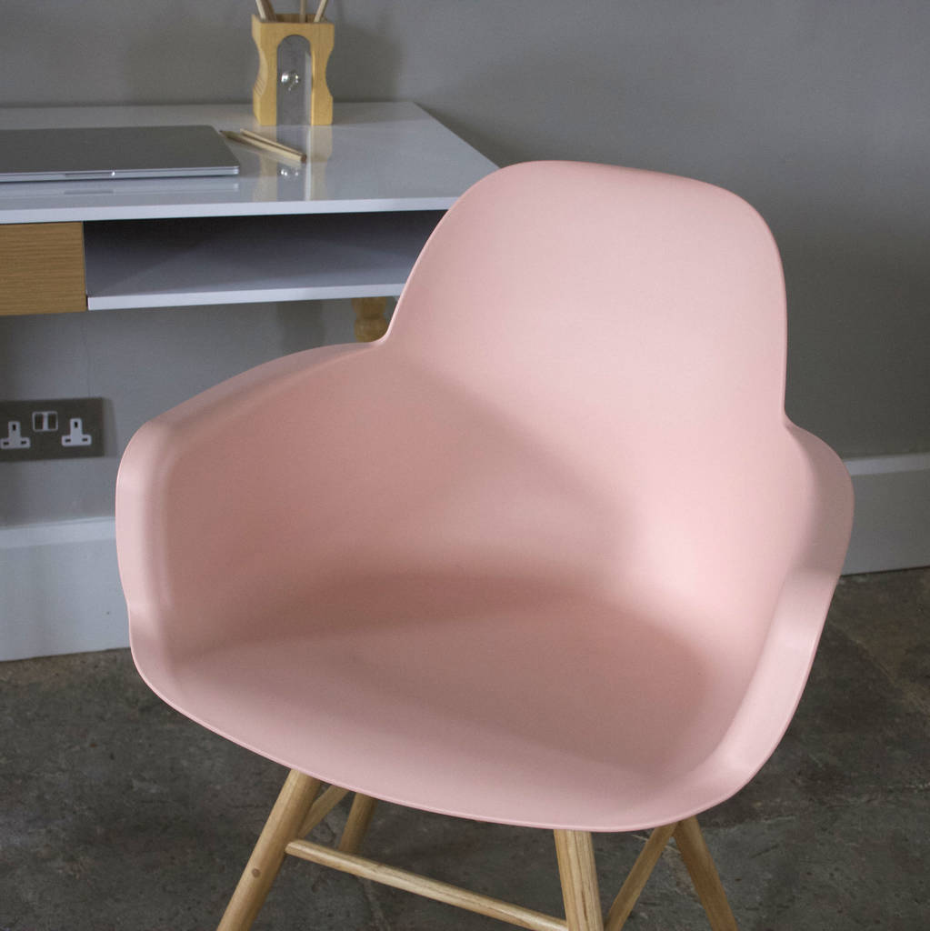 The Dining Room Is Back 4 Ways To Revive Your Fabulous: Scandinavian Blush Pink Dining Chair By Ella James