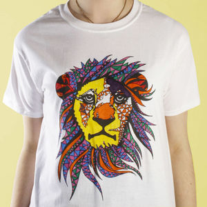 King Of Pride Colouring In T Shirt