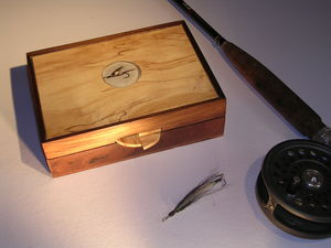 Fly Fishing Cufflink Box