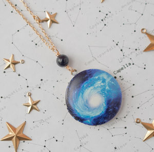 Cosmic Space Locket - necklaces & pendants