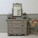 Distressed Edwardian Dressing Chest