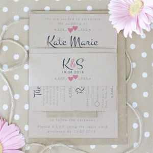 Paperhearts Wedding Invitation Bundle