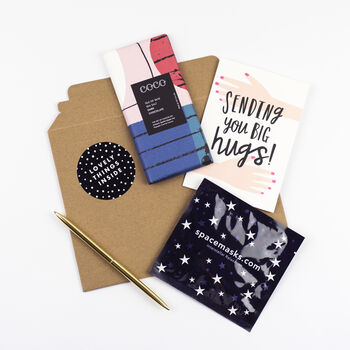 'Sending You Big Hugs' Letterbox Love Gift Set