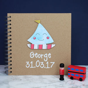 Personalised Baby Memory Book - stationery