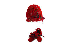 Handmade Hat And Booties Gift - clothing