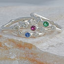 Precious Gemstone And Diamond Ring