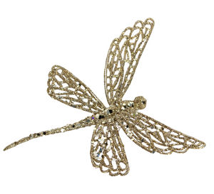 Clip On Dragonfly Christmas Decoration - home accessories