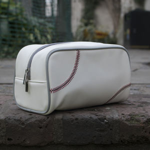 Genuine Baseball Ball Sports Wash Bag