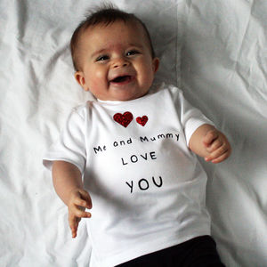 Me And Mummy Love You Father's Day Tshirt - new in baby & child