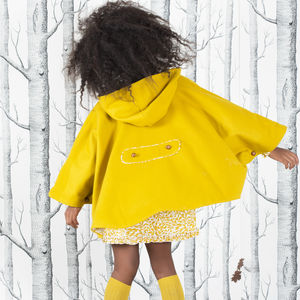 Mustard Heritage Cape - clothing