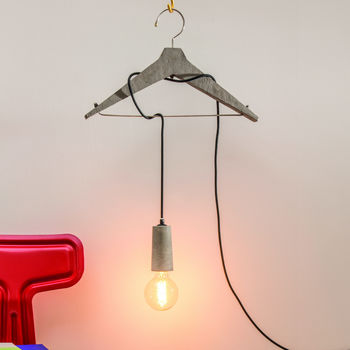 Coat Hanger Lamp