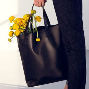 Leather Tote Bag - for the style-savvy