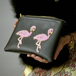 Flamingo Clutch - womens