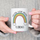 Personalised Rainbow Ceramic Mug