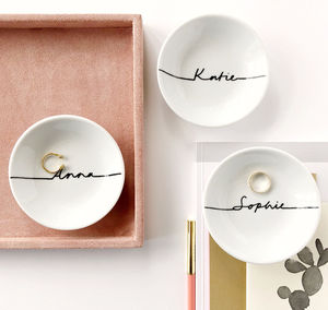 Personalised Trinket Dish