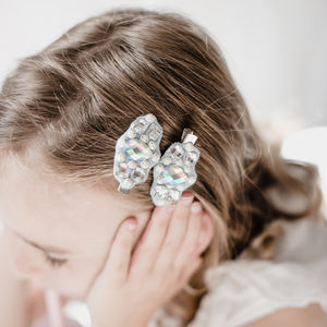 Jewelled Hairclips