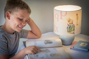 Beatrix Potter, Peter Rabbit™ Children's Lampshade - children's lighting