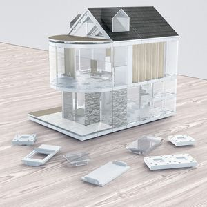 Architectural Model Making Kit 90sqm - traditional toys & games