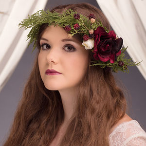 Luella Berry Flower Crown - head pieces