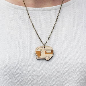Wooden Caravan Necklace - necklaces & pendants