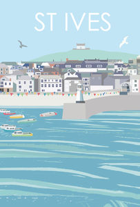 St Ives Print - posters & prints