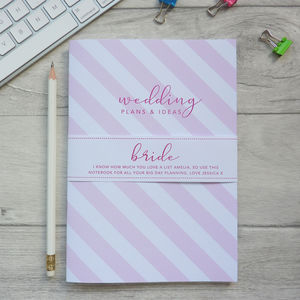 Bride Notebook - albums & guest books