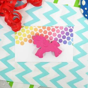 Unicorn Crayon Party Favour - gifts for children