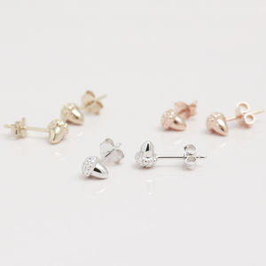 Acorn For New Beginnings Stud Earring - earrings