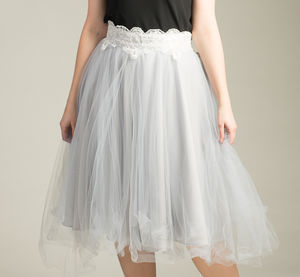 Adult Tulle And Lace Skirt - women's fashion