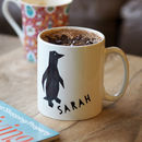 Penguin Mug Gift With Hot Chocolate And Marshmallows